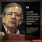 A @GloboNews é mais golpista que os próprios golpistas. Usa uma concessão pública para dar sustentação ao GOLPE! https://t.co/emrAGUEOgM