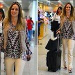 Sorridente, Ana Furtado já está indo em direção a casa de Willian Bonner para ser sua esposa provisória. https://t.co/Mh96pyH0Lb