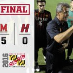 TERPS WIN!! No. 4 Maryland defeats Hartford, 5-0, in home opener Monday. Goals by Wild (2), Elney, Campbell, Calix. https://t.co/IDpvaCSjKf