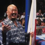 It is with a heavy heart that we say good-bye to @WWE Hall of Famer Mr. Fuji. #RAW #RIPMrFuji https://t.co/h4ohfK444n