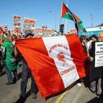 #FYI: Setelah Fans Celtic, kini Fans LFC turun ke jalan untuk menyuarakan kebebasan Palestina. #RESPECT https://t.co/KhMUfm5MlW