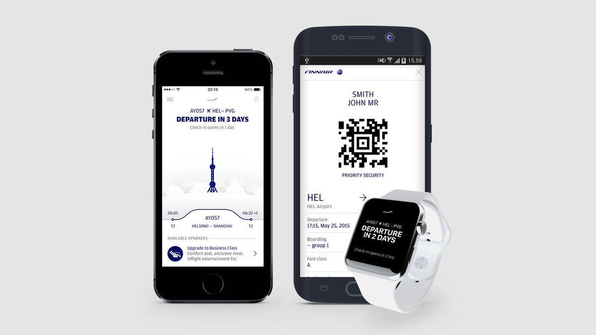 Finnair's mobile application wins coveted Red Dot Award!