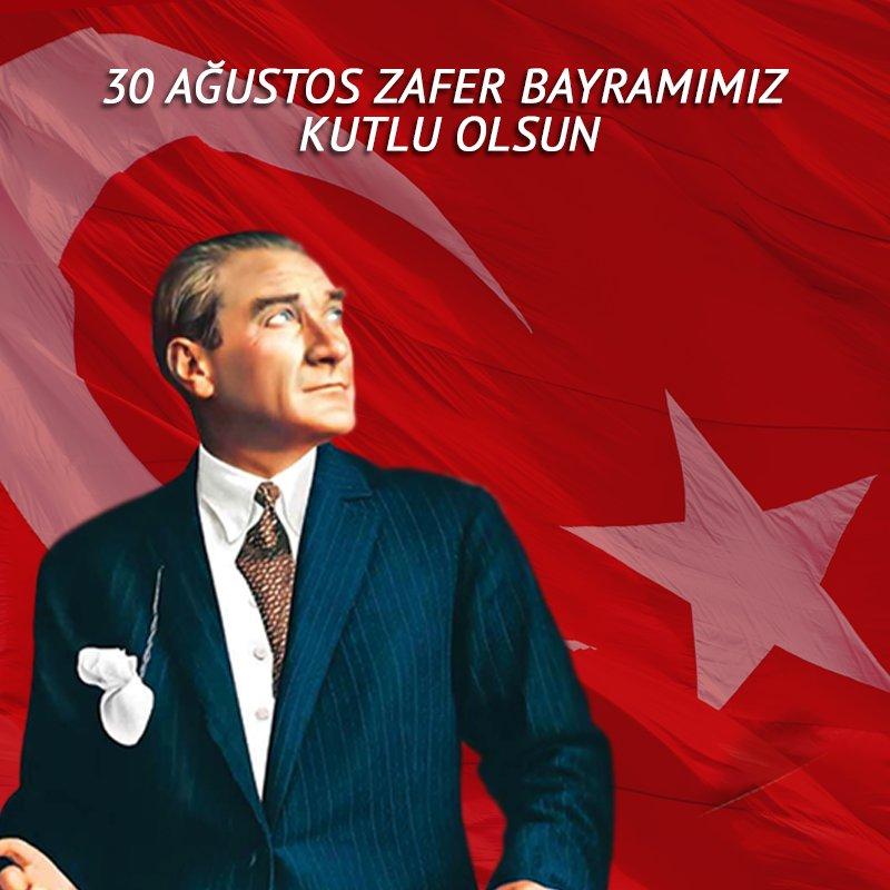 Zaferimizin büyük önderi Mustafa Kemal Atatürk'ü ve silah arkadaşlarını saygıyla anıyoruz. https://t.co/Qtn9qHI6qw