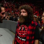 EXCLUSIVE: A furious @WWERollins questions @StephMcMahon & @RealMickFoley moments after #RAWs shocking main event! https://t.co/EFfSPhiW9j