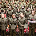 Over 100 #female cadets returns home from #Turkey after completing their #education. Proud to see u on duty ! #Afg https://t.co/k2gmSo5c2x