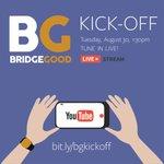 Special S/O to @EOakCollective - feat. Tue Aug 30 1:30pm @YouTube #livestream of #BRIDGEGOOD https://t.co/ZAyAwcy2pe https://t.co/FlGucqvRFl