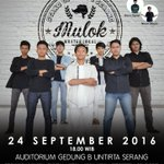 Sabtu, 24 September 2016 | #SUN4SRG #MULOK | Audit Gd. B Untirta Serang | 7 Comic | IDR 30k https://t.co/eUEio9nF9q https://t.co/tQyMmPWZ0A