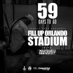 59 days to go!!! If u a friend or a fan, I need u 2 help me with this campaign & RT this 4 me. #FillUpOrlandoStadium https://t.co/Ks0OeRgmke