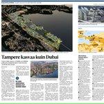 Tänään #Tampere suuret hankkeet hyvin esillä. Vastaavia uutisia ei juuri kuule pääkaupunkiseudun ulkopuolelta. https://t.co/rffiCeuoCn