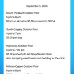 #Calgary Pools open to #calgarydogs on Labour Day - check out the list! #yycdogs #yycpets #yyc #plunge https://t.co/gNG2IOw9lB