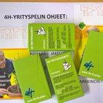 #Yrittäjänpäivä 5.9. #Tampere Hatanpään koulu pelaa @Tampereen4H kanssa #4Hyritys-pokeria @TATtalks @JohannaVihinen https://t.co/e9sD7QHqDL