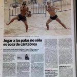 Grandes el diario Montañes dando gran cobertura al evento de palas . #santanderpalas https://t.co/CxaYS7mEIU