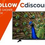🎁 RT + Follow @Cdiscount pour tenter de gagner une TV 4K 124cm @LG_France ! 👉 https://t.co/kpPZwxyHW8 #concours https://t.co/PYk1RmEubZ