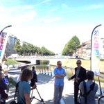 Opening onderdoorgang Rozemarijnbrug #coupure door @filipwatteeuw #fietsstad https://t.co/cGcAb57JNV