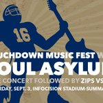 Hard to believe it, but the home opener vs VMI is only 4 days away. Join us 4 the Touchdown Music Fest b4 the game! https://t.co/3JxYADj2c3