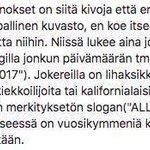 Helsinkiläinen jääkiekkomainonta pähkinänkuoressa. https://t.co/zjdQyRcdPG