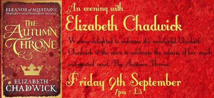 I'm in Waterstones Birmingham on September 9th. A historical novelist goes in search of Eleanor of Aquitaine! https://t.co/11pgUXdVQX