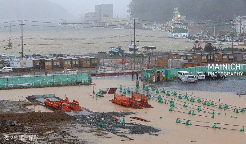 【天候】台風10号が岩手県上陸 東北太平洋側への上陸は初 [無断転載禁止]©2ch.net ->画像>94枚