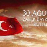 Bu Aziz Vatan için Canlarını feda etmiş tüm Şehitlerimizi rahmetle anıyor #30AgustosZaferBayramını kutluyorum. https://t.co/aO6h0Wrsvs