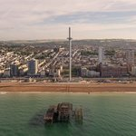 100,000th visitor @BA_i360 just 3 weeks since opening along #Brighton seafront #HeartNews https://t.co/x1RYnEWrk5