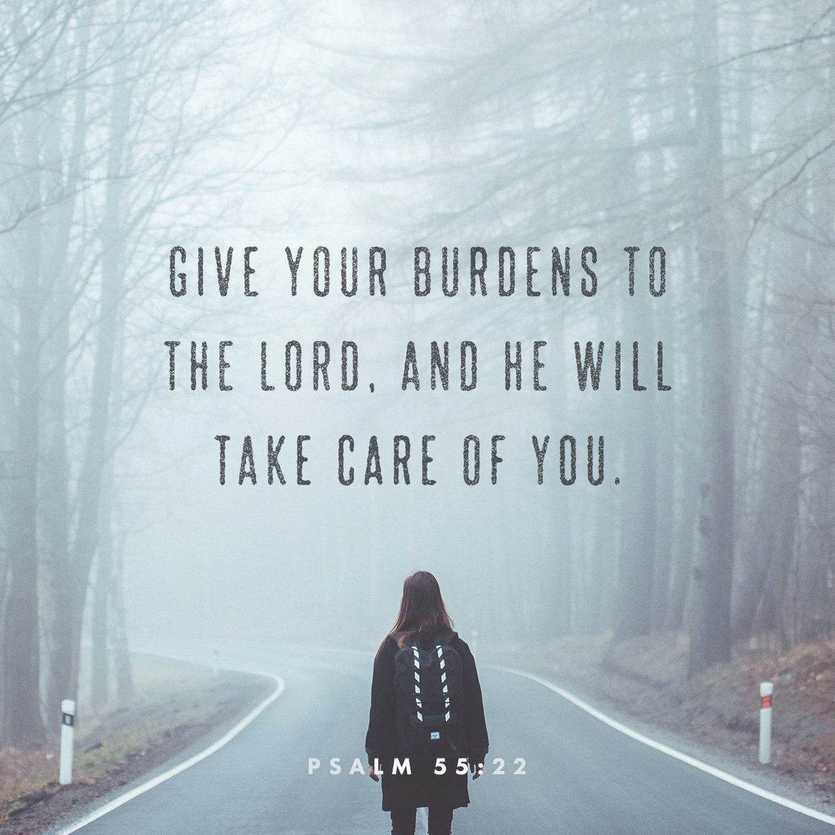 Give your burdens to the LORD, and he will take care of you. He will not permit the godly… https://t.co/QxvMwtZZhY https://t.co/aT27X7S5Ym