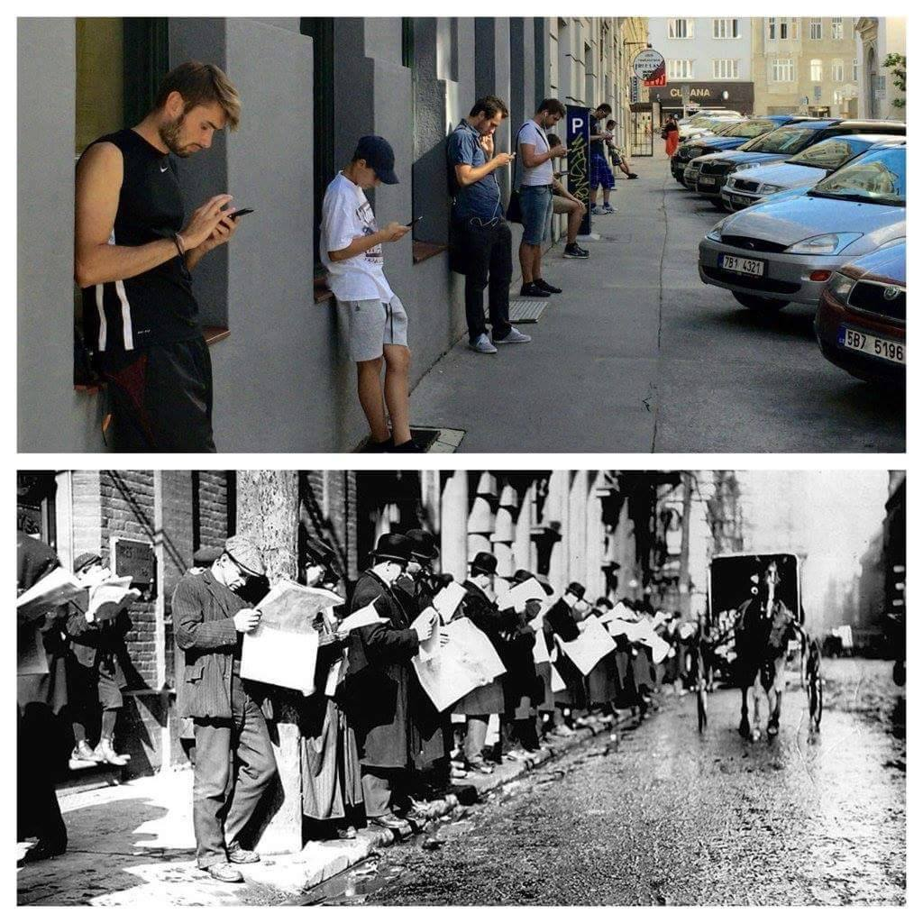 Not a lot has really changed in 100 years or so :-) https://t.co/8M18LgIgH8