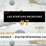 #startups : qui recrute en @Occitanie ? On vous prépare une belle rencontre 😉 #meleenum #stage #CDD #CDI #freelance https://t.co/3wC5hSQBKz