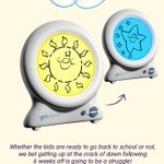 The Gro-clock to the rescue! #groclock #thegrocompany #backtoschool https://t.co/xNvgHeqVSX