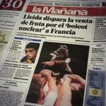 El diari @LaManyanacat recorda la portada de #taldiacomavui de 1995. Informava del debut dels @CdLleida a #Agramunt. https://t.co/bspoKtTNWG
