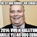 Kyllä nyt kelpaa Antti Rinteen kauhistella. 2014 hän itse mahdollisti toimarille yli 40 000 € palkan. #tekopyhyys https://t.co/Pk75GBEEiL