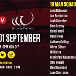 SQUAD NEWS  Wigan name unchanged squad for home Super 8s clash with @WidnesRL on Thursday  https://t.co/hGFNJwaf8g https://t.co/xcETFBsXTY