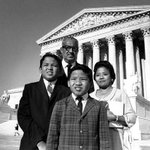 On this day in 1967, Thurgood Marshall became 1st African American confirmed as Supreme Court justice. (Family pic) https://t.co/1vwbWPN8FD