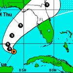 Tropical Depression 9 expected to move toward Florida, Georgia. https://t.co/OpEIGYX8RS https://t.co/ySThduHZeM