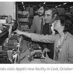 Steve Jobs visiting Apple Ireland in 1980 https://t.co/HuWCVxmqMM https://t.co/jFFITMFK1P