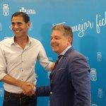 Fernando Hierro conoce las instalaciones de la Unidad de Medicina Deportiva de Clínica Asturias 👌 #RealOviedo https://t.co/uliH9GqgzA