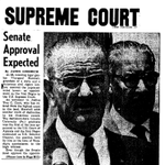 Thurgood Marshall was confirmed for Supreme Court #OTD 1967 #twitterstorians https://t.co/Lx5SGvooqy https://t.co/ZvcUKiJ1g9
