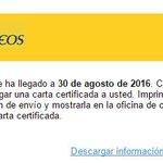 🚩 Ojooo... #Nopiques. Se ha registrado una nueva oleada de #phishing suplantando a @Correos. No cliques y elimínalo https://t.co/5kMnGekdEI