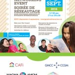 #WelcometoMoncton event for newcomers and international students. Thursday, September 15 at 5 pm at @resurgoplace https://t.co/72cNyUKqMj