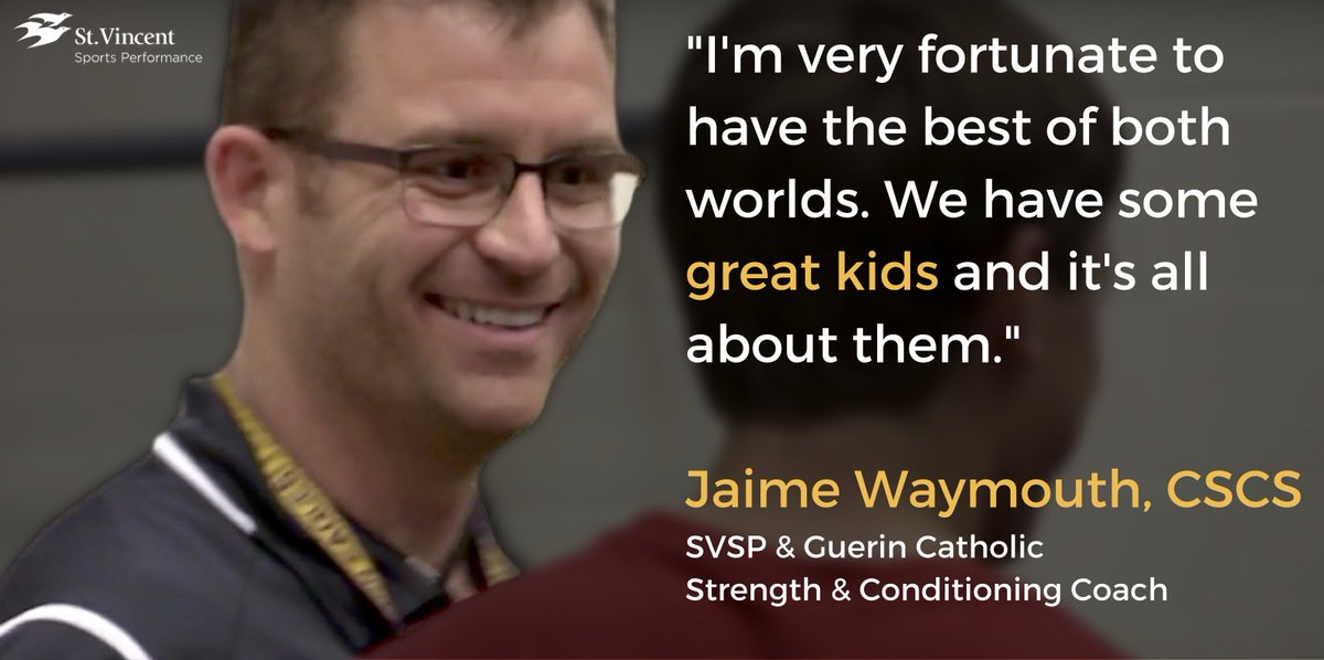 We're fortunate to have the coaches we do! @jwaymouth78 does fantastic work @GuerinCatholic https://t.co/LjfCuAxoNm