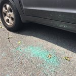 """Neighbors say up to 30 cars were hit w/ BBs in an apparent """"drive-by."""" They think shooting happened around 3am. https://t.co/n12087dURd"""