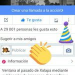 Nuestra fan page de #Facebook ya alcanzó los 29k likes interesados en la #HistoriadeXalapa. Muchas gracias. https://t.co/uSPiif5b4c