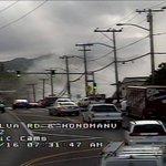 AIEA: Hazardous conditions along Moanalua Rd near Aiea Hts Drive OP due to building fire #hitraffic https://t.co/NlcrlsokM2