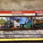 Ole hyvä Helsinki -teoksia Sörnäisten metroasemalla #myhelsinki https://t.co/rzvWX6qOBN