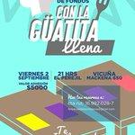 Te invitamos a la 1ª Cena de recaudación de fondos de @TemukoParticipa Reserva tu entrada y asegura tu cupo. =) https://t.co/K8nozmrQYR