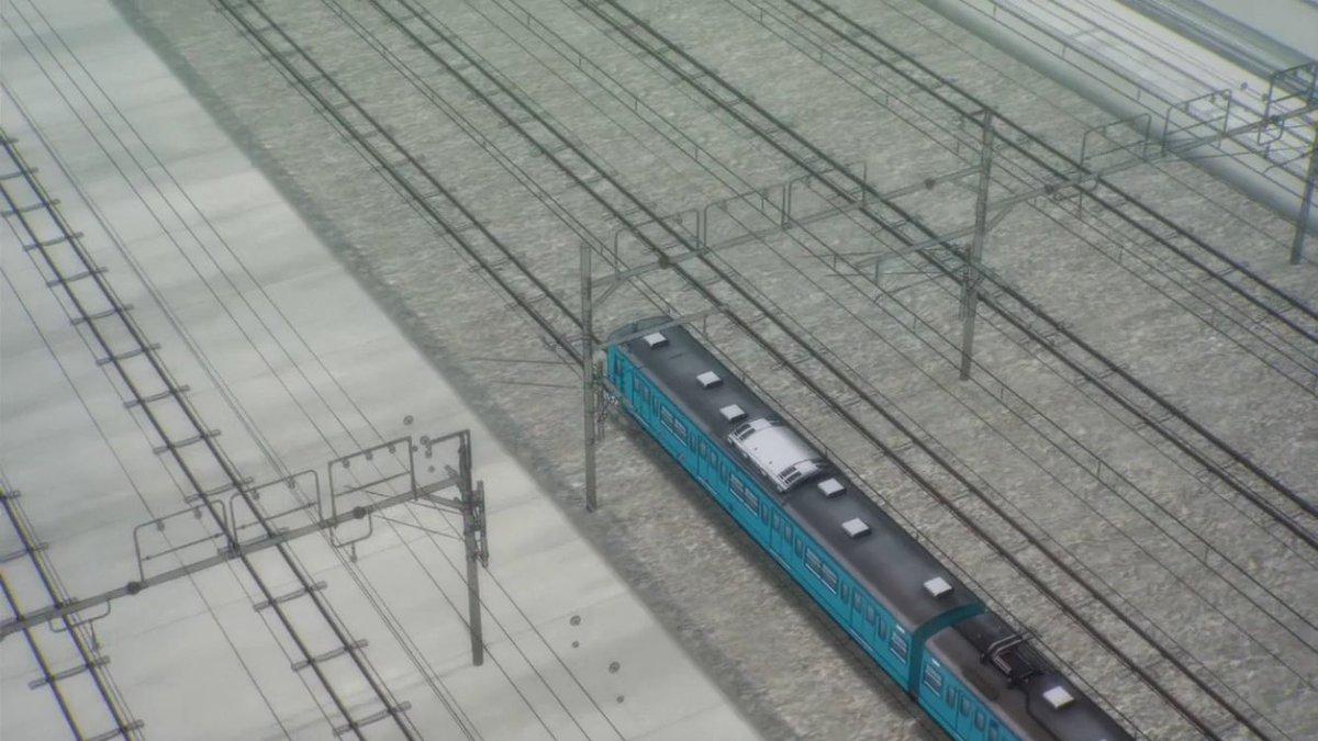 RAIL WARS! -日本國有鉄道公安隊- 1話その1201系115系185系183系数多くの伝説を作った鉄道アニメの