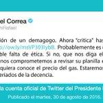 """""""No permitiremos feriados de la decencia"""", @MashiRafael https://t.co/C6tPtceqfv"""