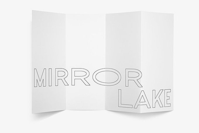 It's Nice That @itsnicethat: Twelve studio's identity for Mirror Lake experiments with ripples and waves > https://t.co/yzrtuZWLni https://t.co/jAlstmN6oH
