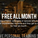 Looking for a One on One Fitness Studio? Come try it out for FREE this September. #YEG #YEGfitness @Yegisawesome https://t.co/I5RPgiip22