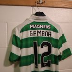 Celtic TV are about to speak to the Hoops new number 12, @Cris_GamboaCR. #WelcomeGamboa https://t.co/KADI7qEhfl
