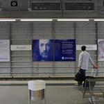 Feldhase, Selbstporträt und Rhinozeros, diese Dürer-Werke zieren jetzt die U-Bahnstation Dürer-Flughafen. #Nürnberg https://t.co/9h3Wtw0OE8